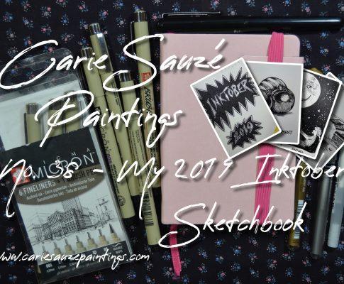 No. 37 My 2019 Inktober Sketchbook