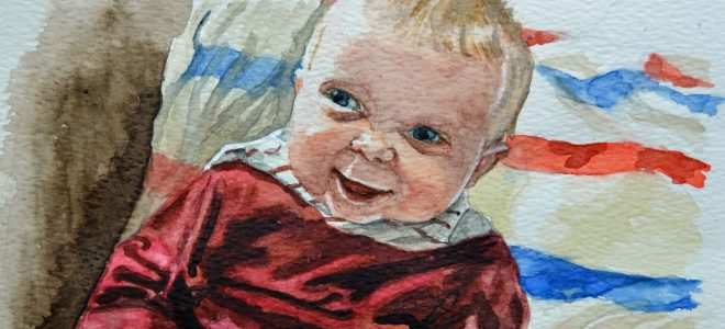 "49 ""Four Months Old"" Watercolour – Time Lapse"
