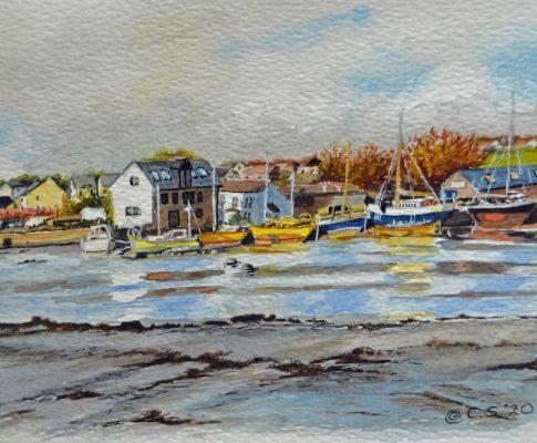 "56 ""Millbrook Creek"" – Watercolour Sketch (Time Lapse)"