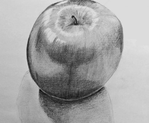 58 Lockdown Art 1 – Circles, Spheres & Apples (Parts 1 & 2)