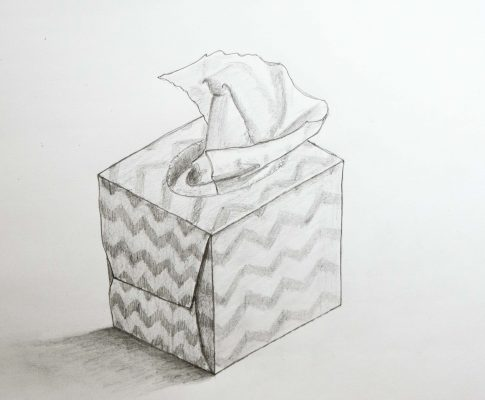 "60 Lockdown Art 2 – (Part 2) Project – ""Tissue Box"""
