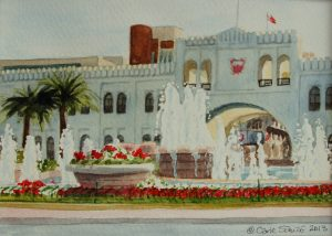 """Bab Al Bahrain"" by Carie Sauzé"