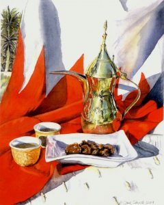 """Coffee Bahrain Style"" by Carie Sauzé"