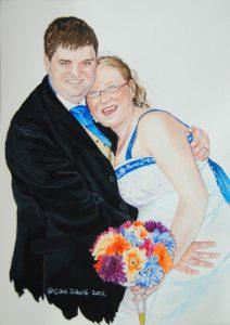 """""""Colin & Claire Wedding"""" by Carie Sauzé"""