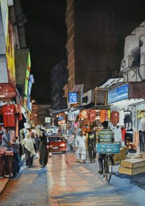 """Night time in the Souq"" by Carie Sauzé"