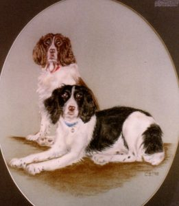 """""""Pair of Dogs"""" by Carie Sauzé"""