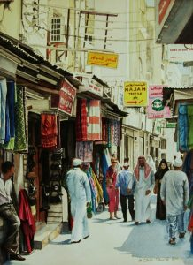 """Sunny Afternoon in the Souq"" by Carie Sauzé"