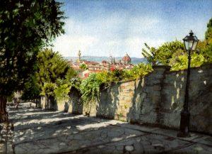 """Via Monte San Salvatore Al Monte"" by Carie Sauzé"