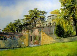 """""""Wileman House"""" by Carie Sauzé"""